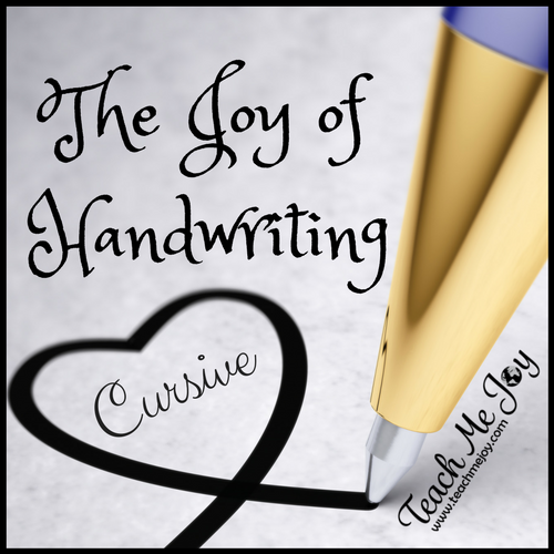 The Joy of Handwriting - Cursive