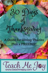 30 Daysof Thanksgiving