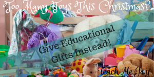 Educational Gifts for Christmas